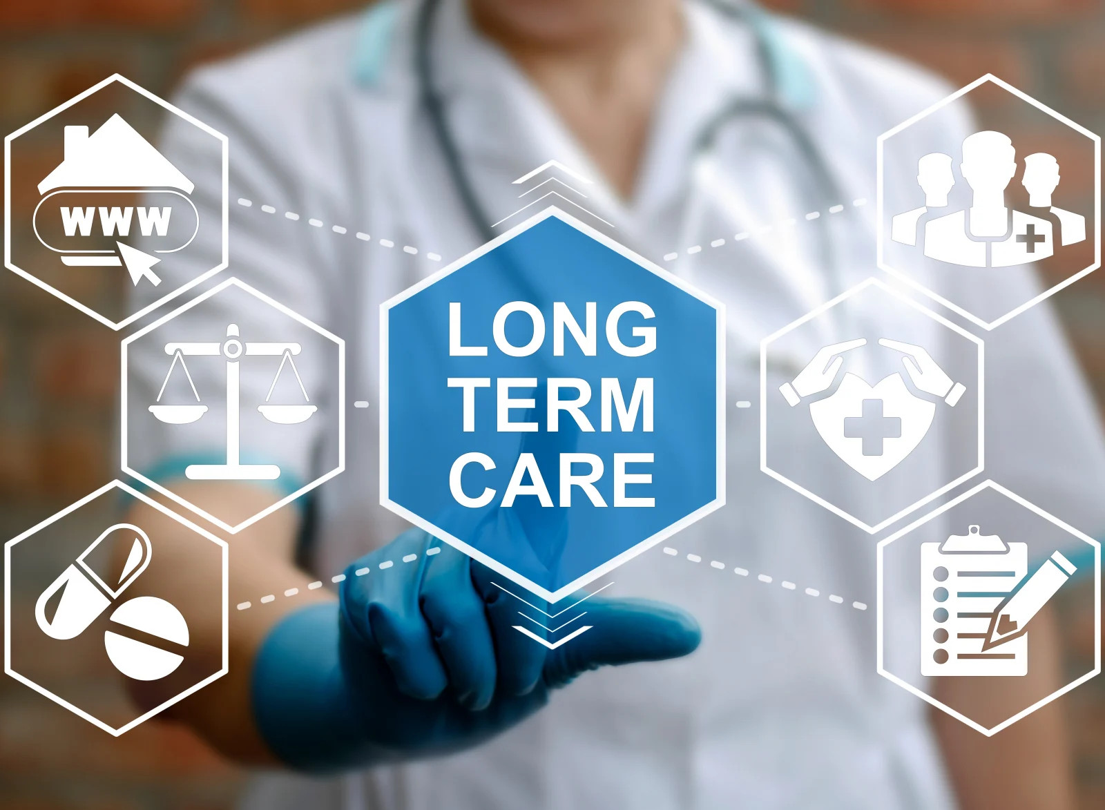 Long Term Care Stock Image